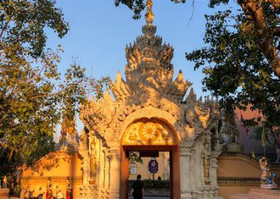 Chiang Rai Wat Phra Sing - Ausgang