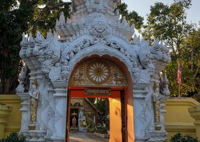 Chiang Rai Wat Phra Sing - Eingang