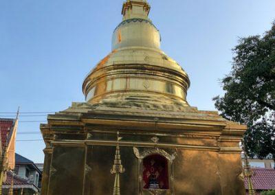 Chiang Rai Wat Phra Sing - Goldener Chedi