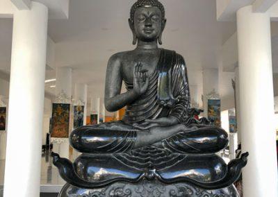 Chiang Rai Wat Rong Khun - Buddha-Figur