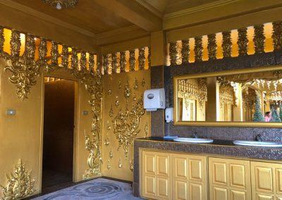 Chiang Rai Wat Rong Khun - Toiletten
