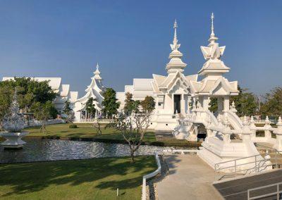 Chiang Rai Wat Rong Khun - Tempelgelände