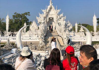 Chiang Rai Wat Rong Khun - Tempeleingang