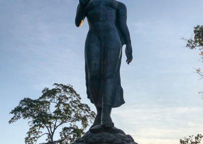 Goldenes Dreieck Viewpoint - Buddha-Statue