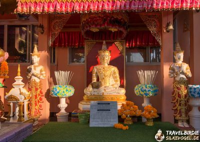 Mae Sai - Wat Phra That Doi Wao - Buddha-Statue