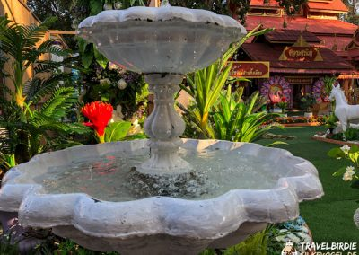 Mae Sai - Wat Phra That Doi Wao - Brunnen
