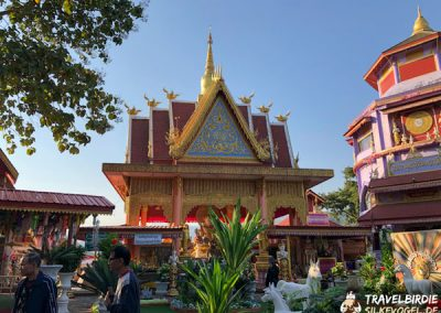 Mae Sai - Wat Phra That Doi Wao - Tempelanlage