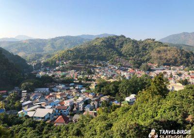 Mae Sai Aussichtspunkt - Blick auf Tachilek