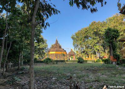 Tham Pla Cave - Tempelgelände