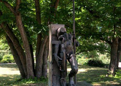 Bietigheim-Bissingen - Park an der Metter - Skulptur Bürger II 1992