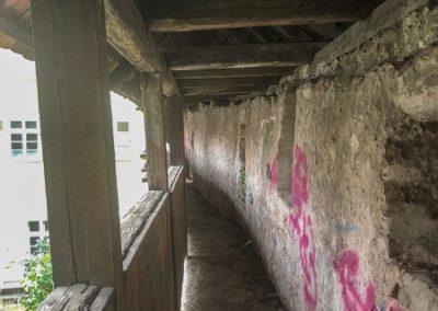 Bietigheim Bissingen - Stadtmauer mit Wehrgang