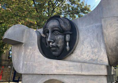 Bietigheim-Bissingen - Pferdeskulptur an der Hillerstraße