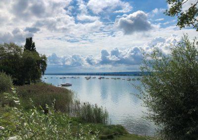 Allensbach - Blick auf den Untersee