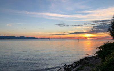 Zum Bodensee und zurück: eine Radtour mit über 800 Kilometern