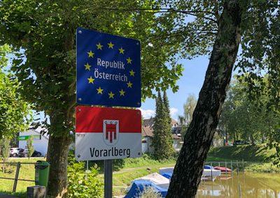 Grenzuebergang Österreich