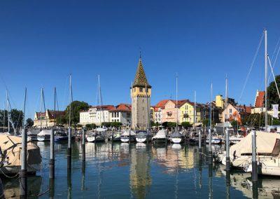 Lindau Hafen mit Mangturm