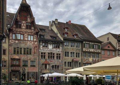Fachwerkhäuser in Stein am Rhein