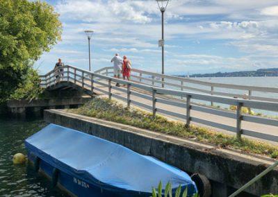 Überlingen - Brücke am Gondelhafen