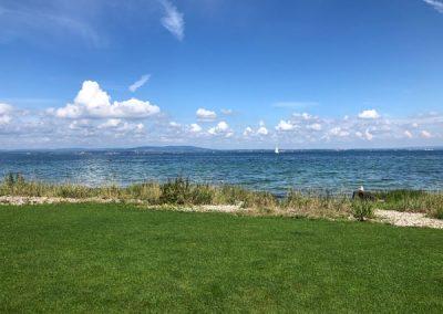 Blick auf den See bei Uttwil