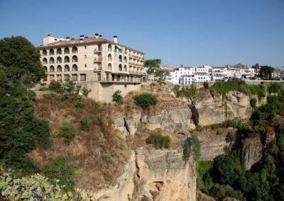 Blick vom Paseo De Los Ingleses auf Ronda