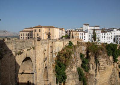 Blick vom Mirador de Ronda auf die Puente Nuevo