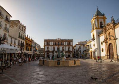 Ronda - Plaza del Socorro
