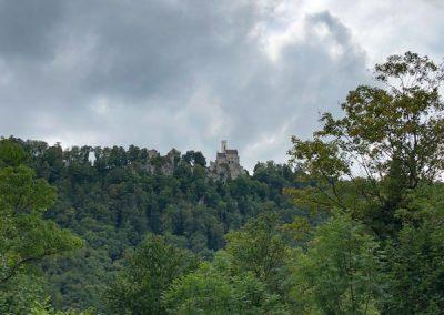 Schloss Lichtenstein aus der Ferne