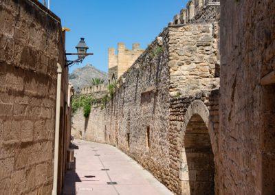 Alcúdia - Innerhalb der Stadtmauer im Westen der Stadt