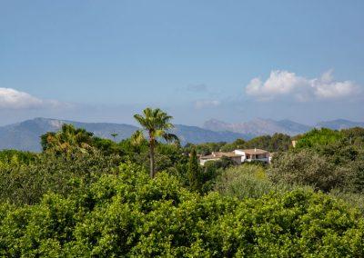 Alcúdia - Blick auf die Berge im Umland
