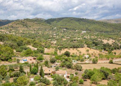 Arta - Blick ins Umland Mallorca
