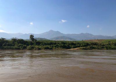 Berge bei Ban Hatsa