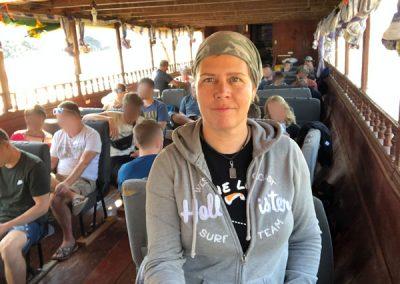 That's me auf'm Boot