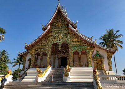 Haw Pha Bang in Luang Prabang von vorne