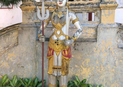 Statue auf dem Gelände des Vat Nong Sikhounmuang in Luang Prabang