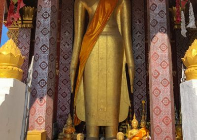 Vat Sensoukharam Luang Prabang: 6 Meter hohe Buddha-Statue