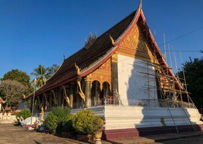 Wat Mahathat in Luang Prabang: Rückansicht