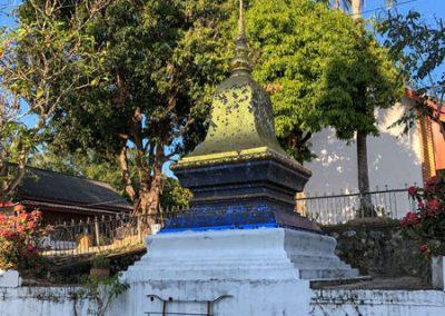 Tempelgelände des Wat Mahathat in Luang Prabang