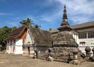 Wat May Souvannapoumaram Luang Prabang - Chedi