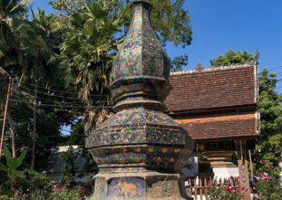 Stupa im Wat Xieng Thong Luang Prabang