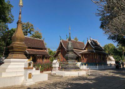 Tempelgelände des Wat Xieng Thong Luang Prabang