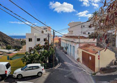 La Gomera - Valle Gran Rey - Straße durch La Calera