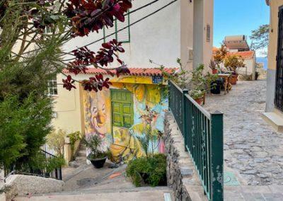 La Gomera - Valle Gran Rey - Treppe runter nach La Playa
