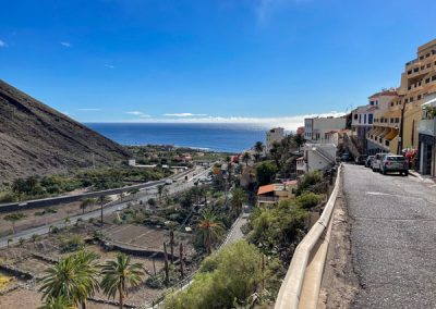 La Gomera - Valle Gran Rey - La Calera - Blick auf den Atlantik