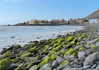 La Puntilla: Blick auf La Playa