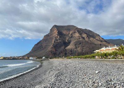 La Puntilla: Blick auf den Hausberg