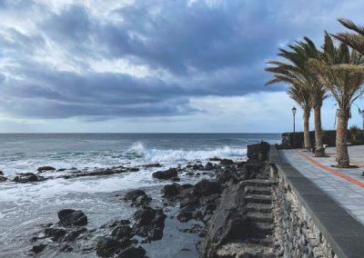 La Playa im Valle Gran Rey - La Gomera