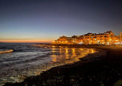 Blick von der Strandpromenade in La Playa - Valle Gran Rey - La Gomera