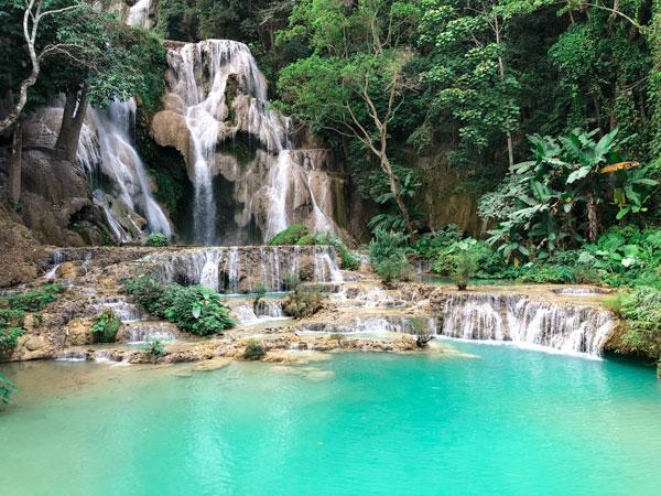 Kuang Si Wasserfall Laos